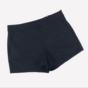 NWT! Express mid rise black dress shorts